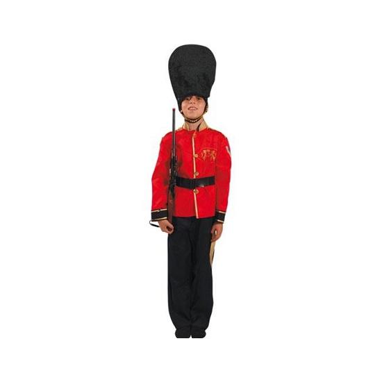 Britse soldaat kinder verkleed kostuum