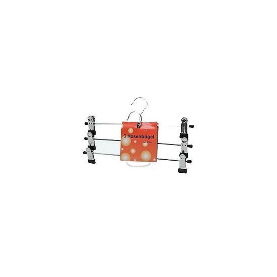 Broeken hangers van metaal 3 stuks