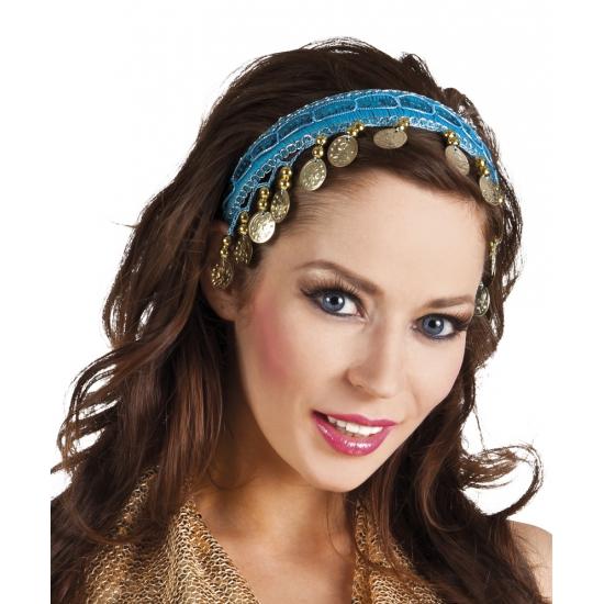 Buikdanseres hoofdbandje gekleurd