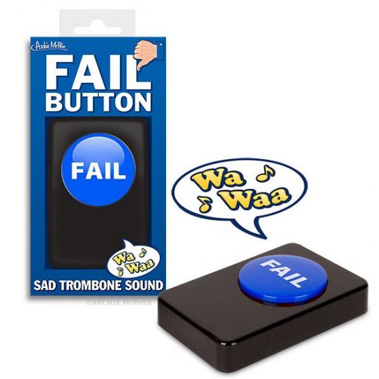 Button met afgang geluid