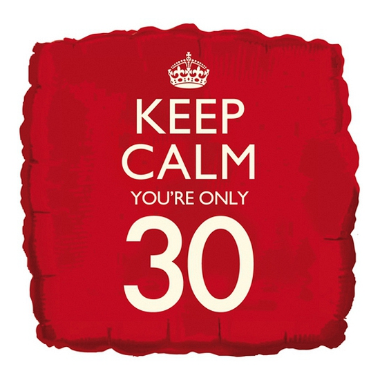 Cadeau ballon keep calm your 30