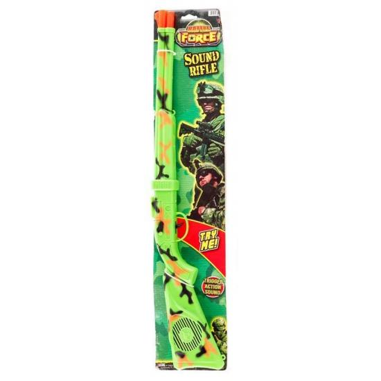 Camouflage speelgoed geweer