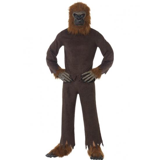 Canrvals kostuum bruine aap