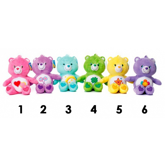 Care Bear knuffel geel 60 cm