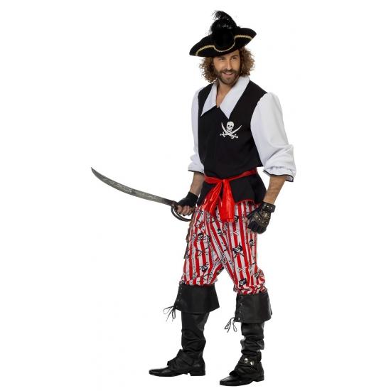 Carnaval kostuum piraat voor heren