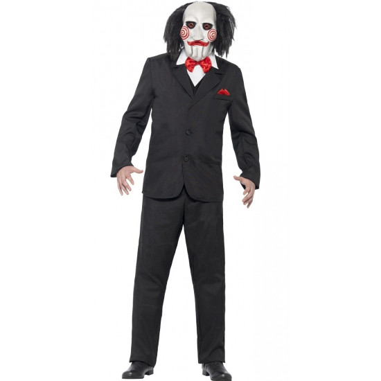 Carnaval Saw Jigsaw kostuum
