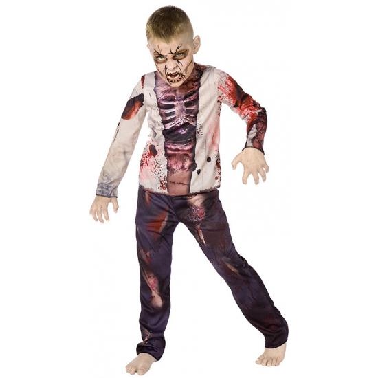 Carnaval zombie kostuum voor kinderen