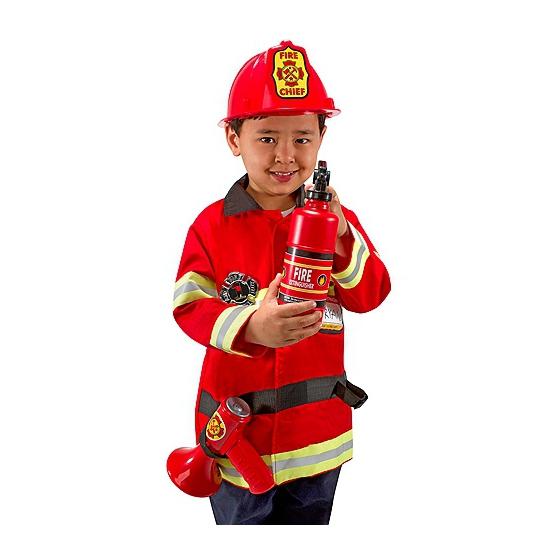 Carnavalskleding brandweer voor kids