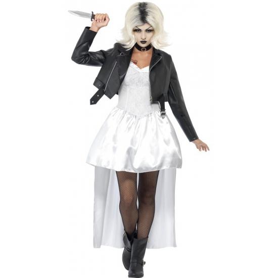 Carnavalskleding Chucky bruid