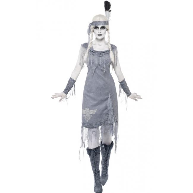 Carnavalskleding ghost town indianen jurkje