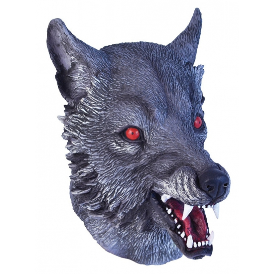 Carnavalsmasker wolf