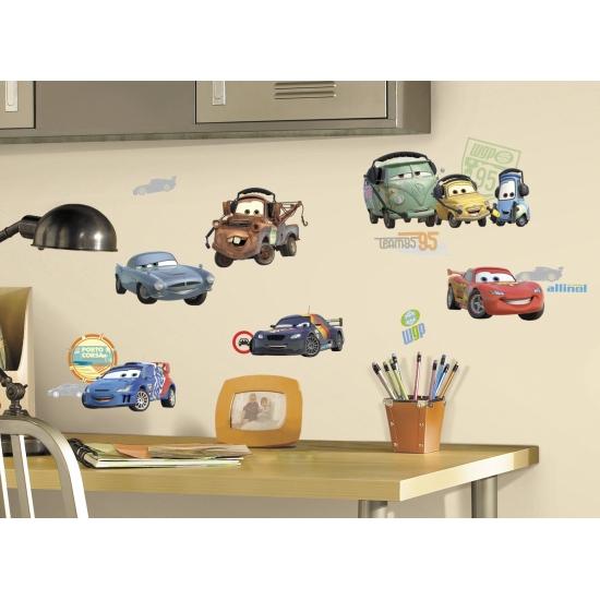 Cars stickers voor op de muur