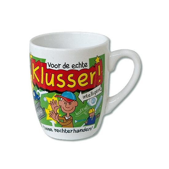 Cartoon mok Klusser