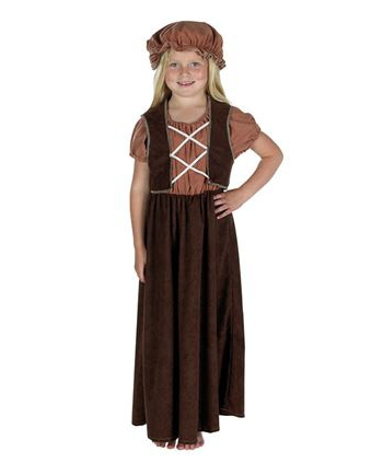 Charles Dickens kostuum voor meisjes