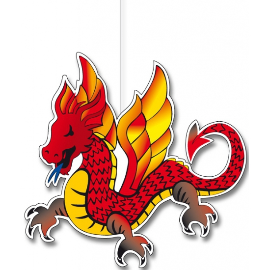 Chinese draak hangdecoratie