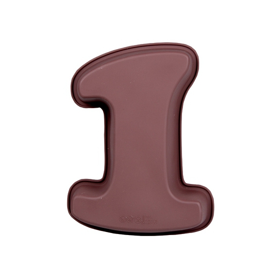 Cijfer bakvorm nummer 1
