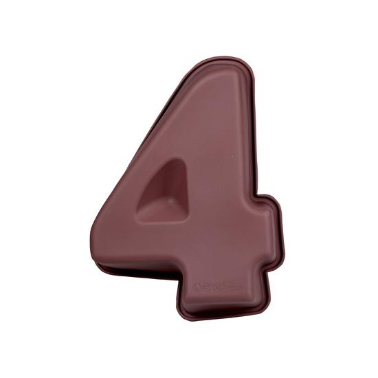 Cijfer bakvorm nummer 4