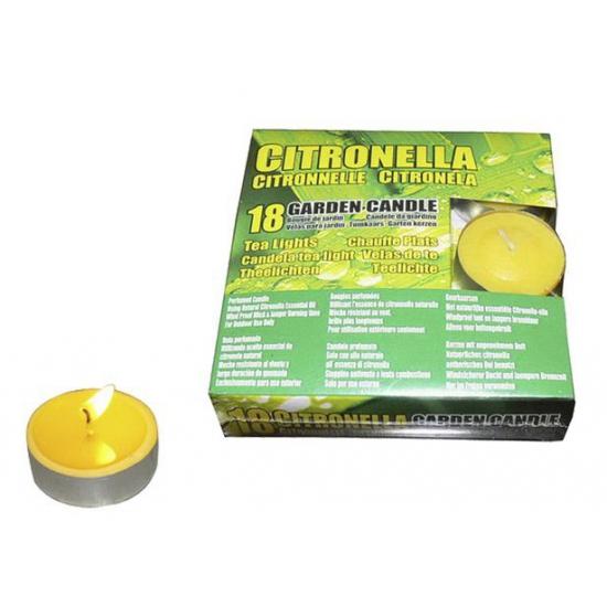 Citronella anti mug waxinelichtjes