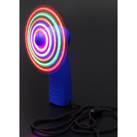 Color Run waaier met lichtjes