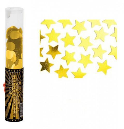 Confetti kanon goud