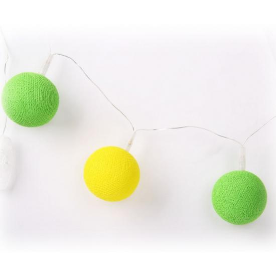 Cotton Balls Brazilie lichtsnoer 5.28 meter