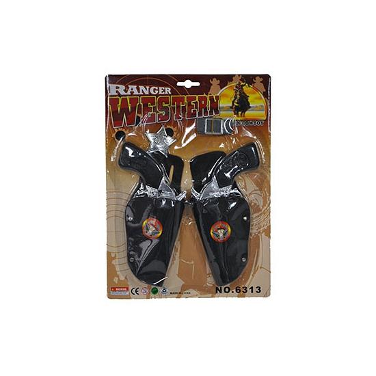 Cowboy dubbele holsters voor kids