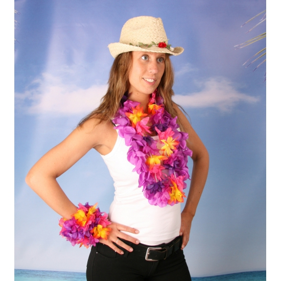 Crazy summer dames verkleed set maat L