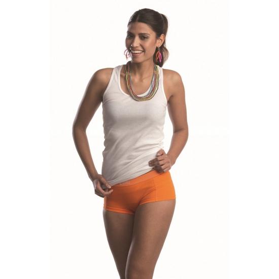 Dames boxers in fel oranje