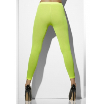 Dames leggings fel groen