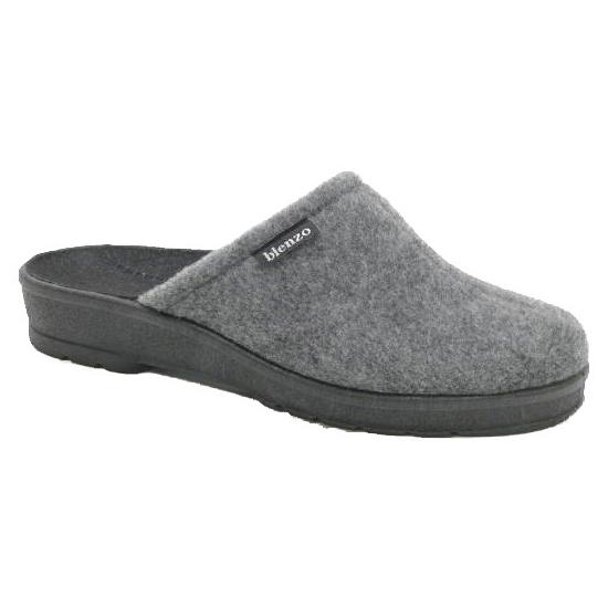 Dames pantoffels grijs