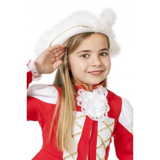 Dansmarieke hoed wit voor meiden