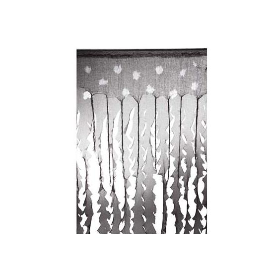 Decoratie griezel gordijn 183 cm