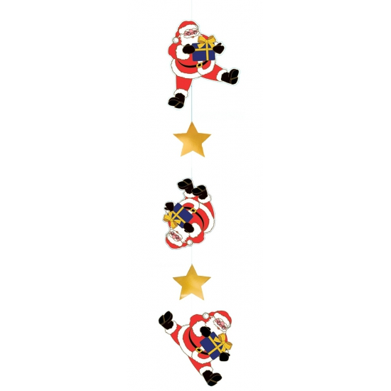Decoratie kerst hanger kerstman