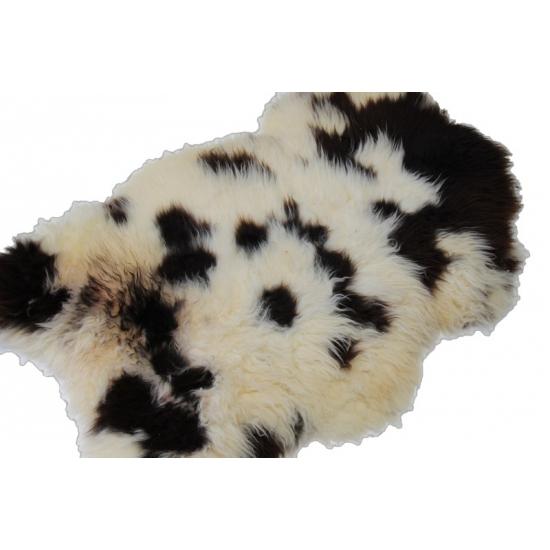 Decoratie schapenvacht zwart wit