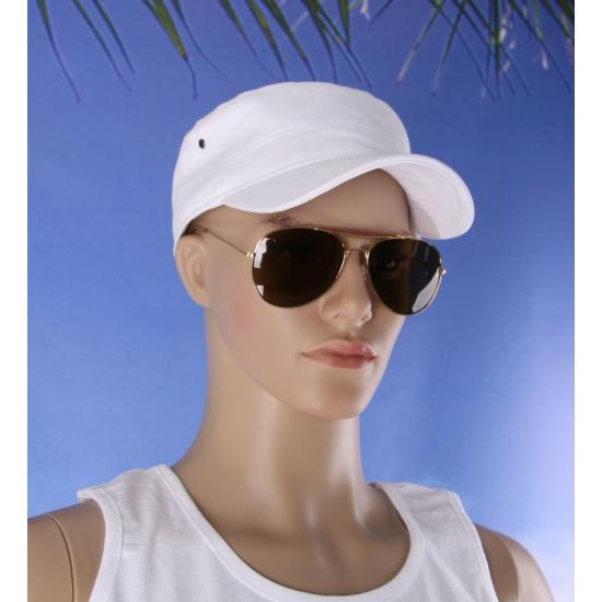 Deluxe zonnebril bruin