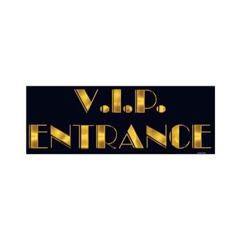 Deurbord VIP entree 20 x 55 cm