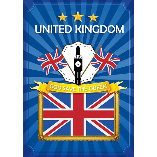 Deurposter Groot Brittannie