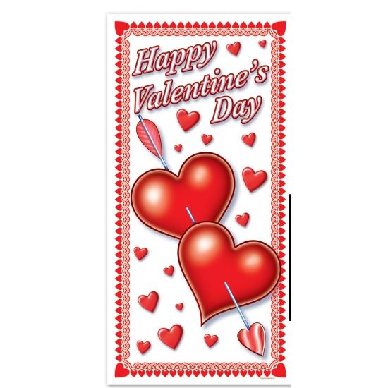 Deurposter Happy Valentines Day