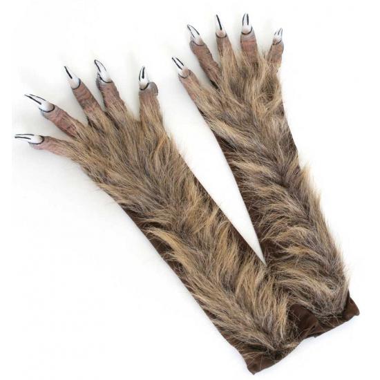 Dieren handschoenen weerwolf