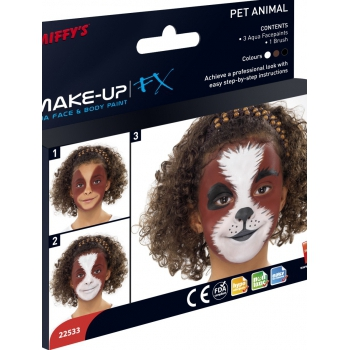 Dieren make up met uitleg