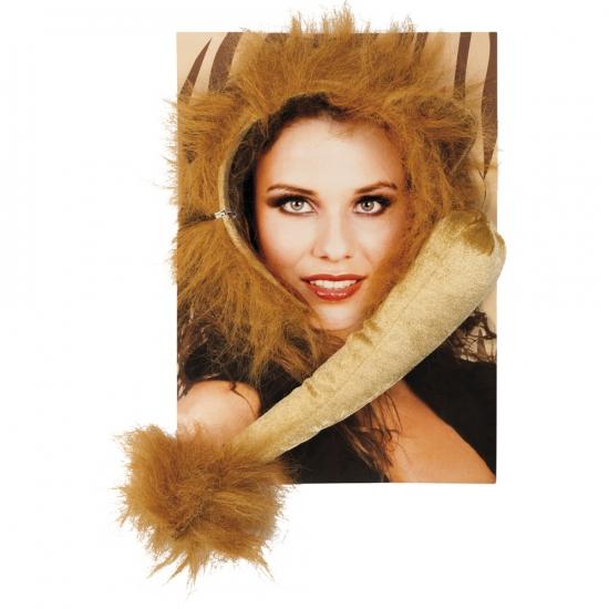 Dieren verkleedset leeuw