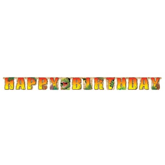 Dinosaurus verjaardag wenslijn