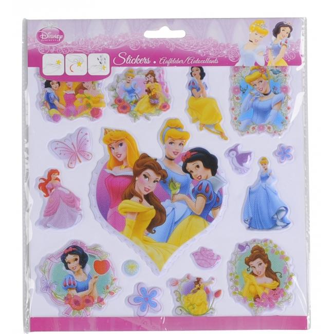 Disney 3D kinderstickers prinsessen