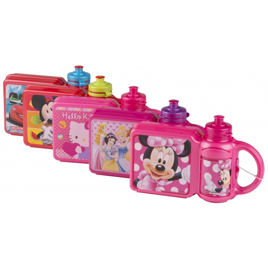 Disney kinder lunchbox met beker Cars