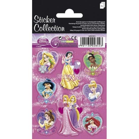 Disney prinsessen stickervellen