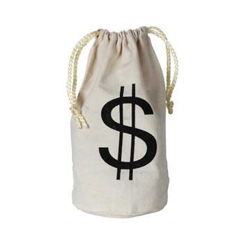 Dollar geldzak 16 x 23 cm
