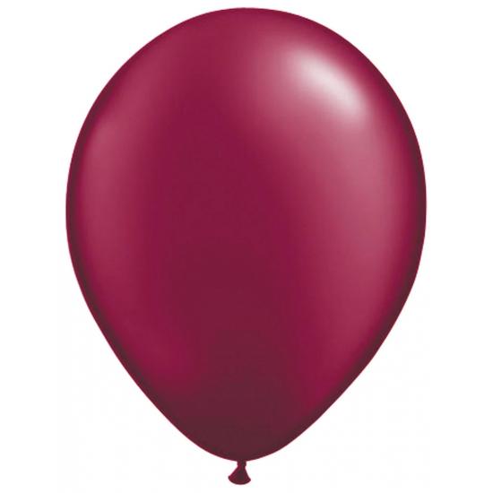 Donker rode ballonnen 50 stuks