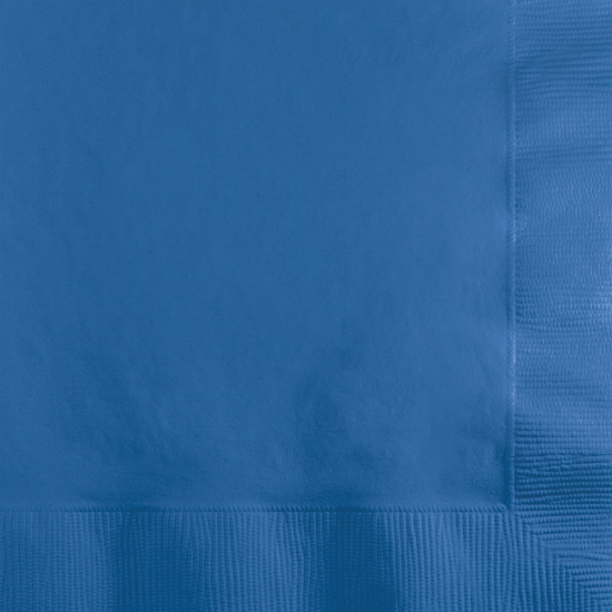 Donkerblauwe servetten