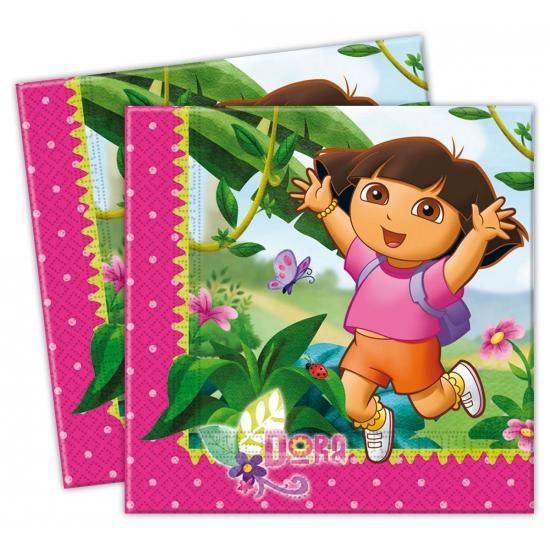 Dora servetten 33 x 33 cm
