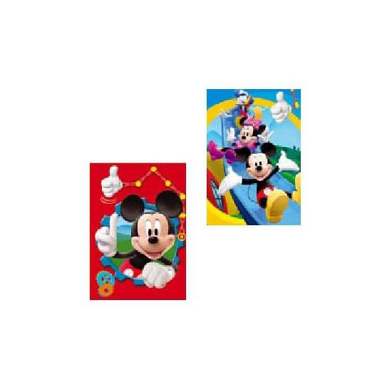 Dubbele wenskaarten Disney Mickey Mouse
